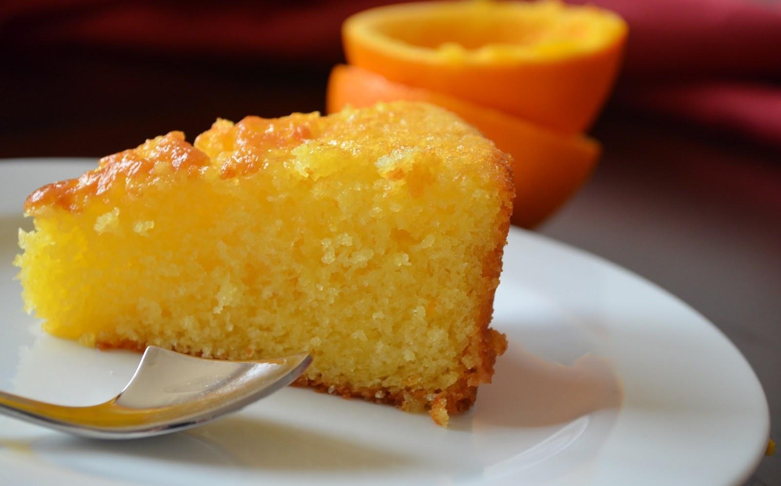 Апельсиновый пирог в мультиварке рецепт с фото