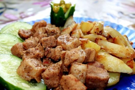 Что можно сделать из картошки и мяса
