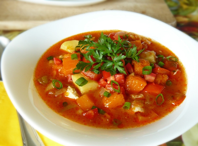 суп со свининой в мультиварке рецепт