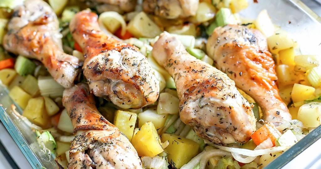 Курица с картошкой и овощами в мультиварке рецепты с фото