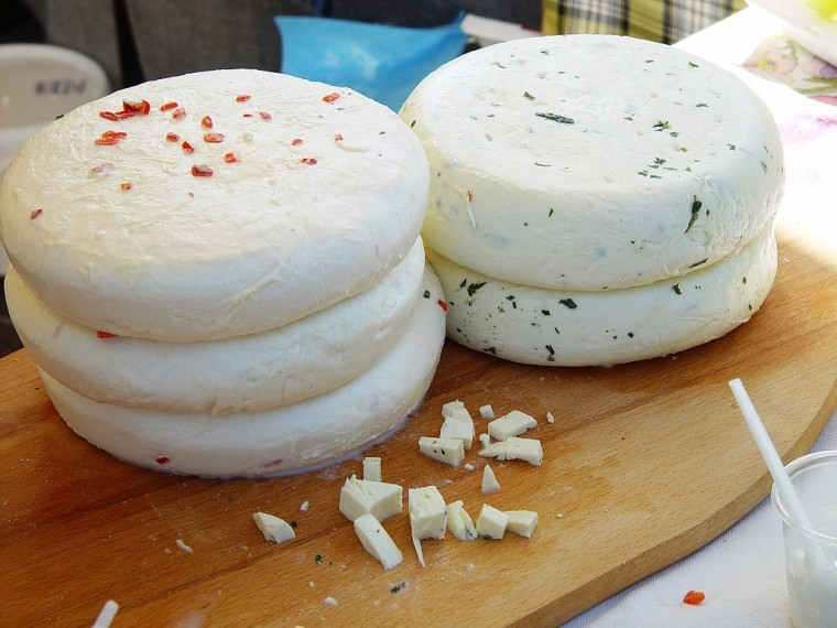 Домашний сыр из молока с зеленью рецепт пошагово