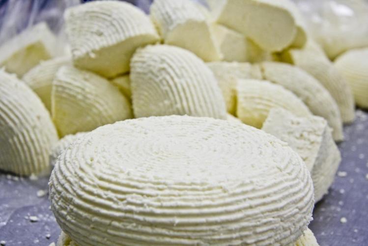 Домашний сыр из молока и кефира вкусный, нежный, а главное натуральный 83