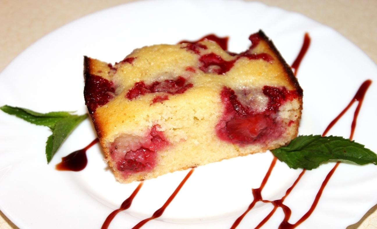 Кекс с клубникой в мультиварке рецепты