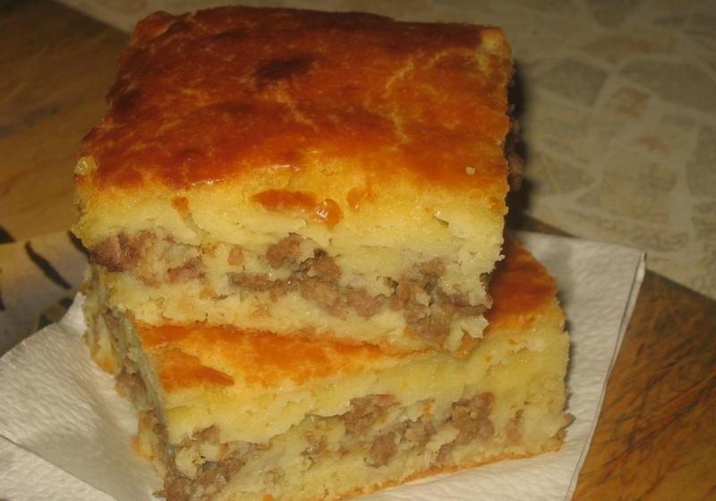 Наливной торт на кефире рецепт