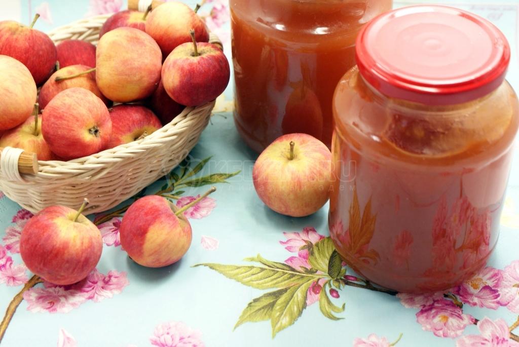 рецепт яблочного варенья из сорта коричное полосатое