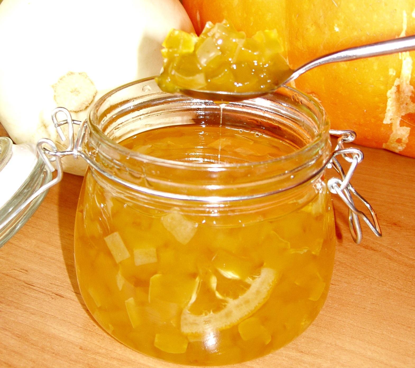 Рецепт варенья из кабачков с апельсином и лимоном с пошагово
