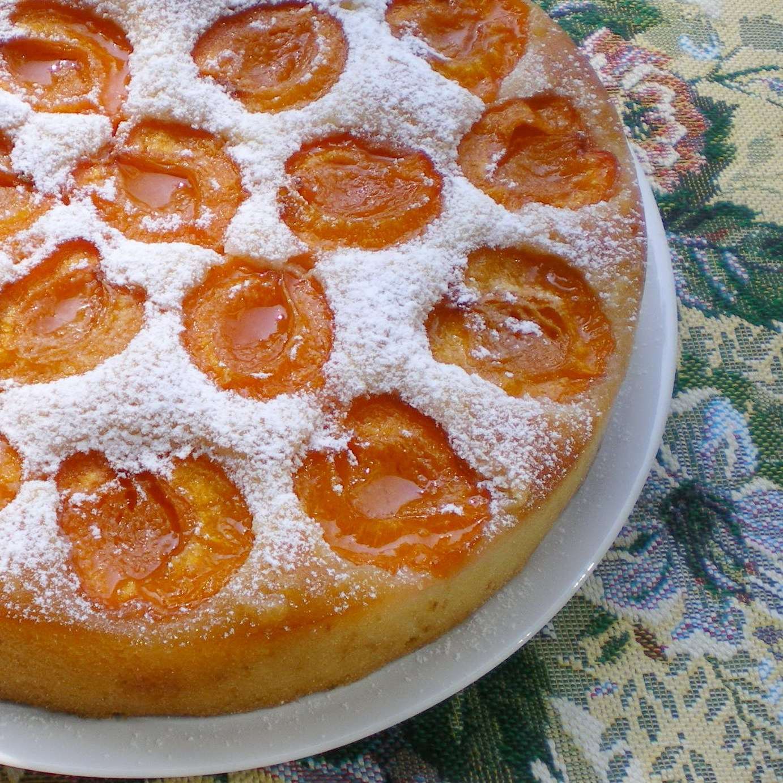 Рецепт фото пирог из абрикоса