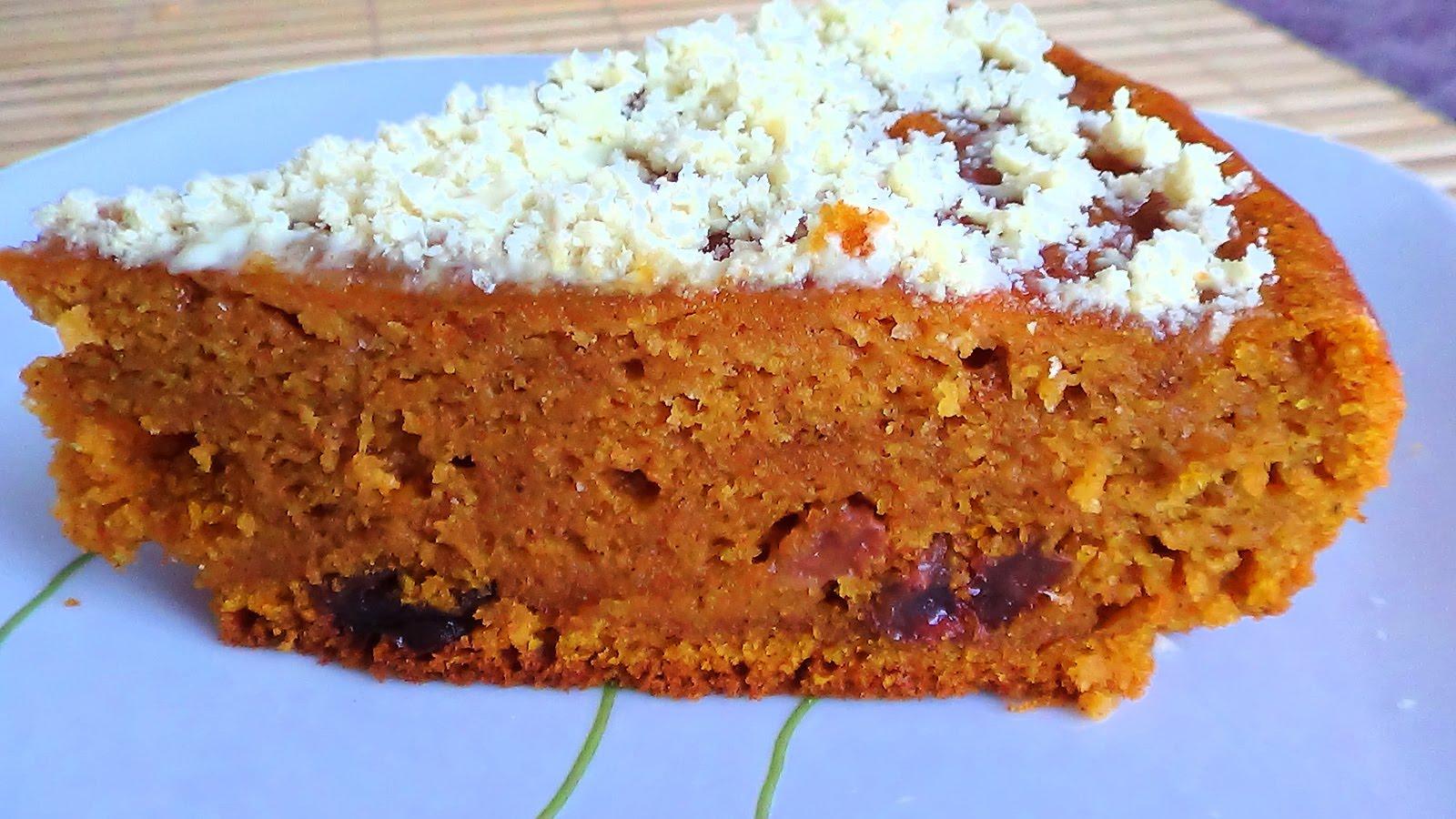 Рецепт тыквенного пирога в мультиварке