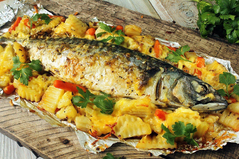 Рыбой и картошкой рецепты