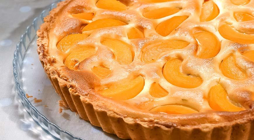 Рецепты пирога с персиками и творогом рецепт с