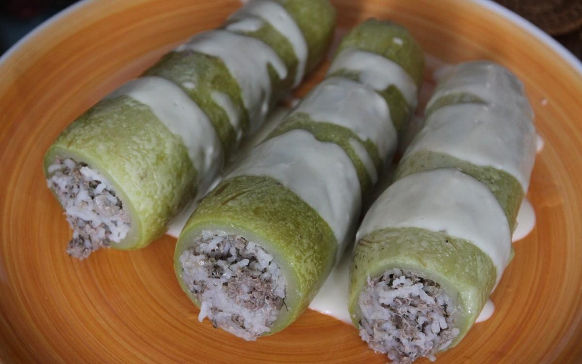 Фаршированные кабачки в мультиварке редмонд рецепты с фото пошагово