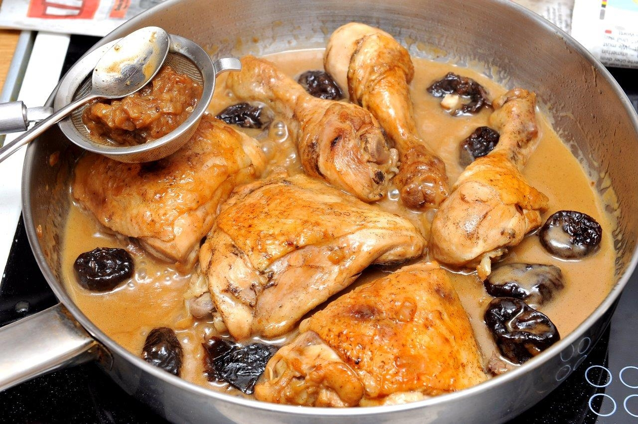 Тушёная куриная грудка рецепты