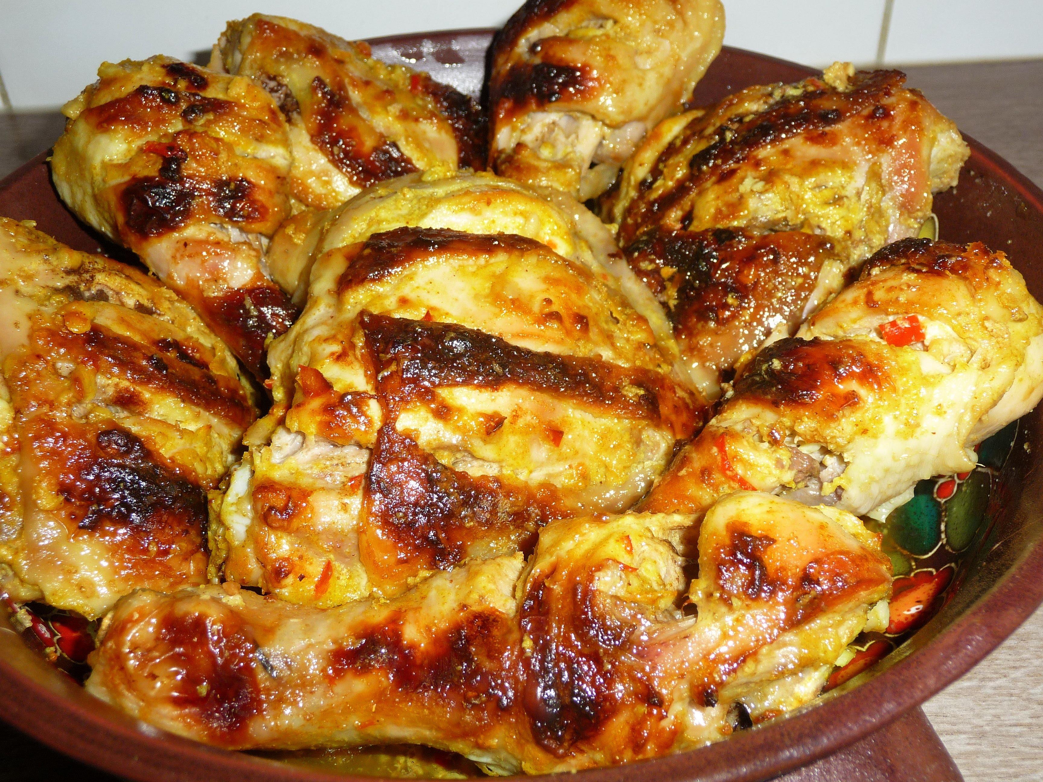 Как приготовить вкусные бедрышки куриные в духовке