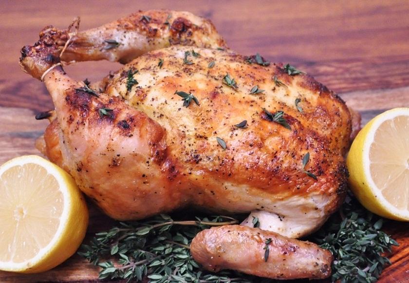 Курица с лимоном в духовке целиком рецепт