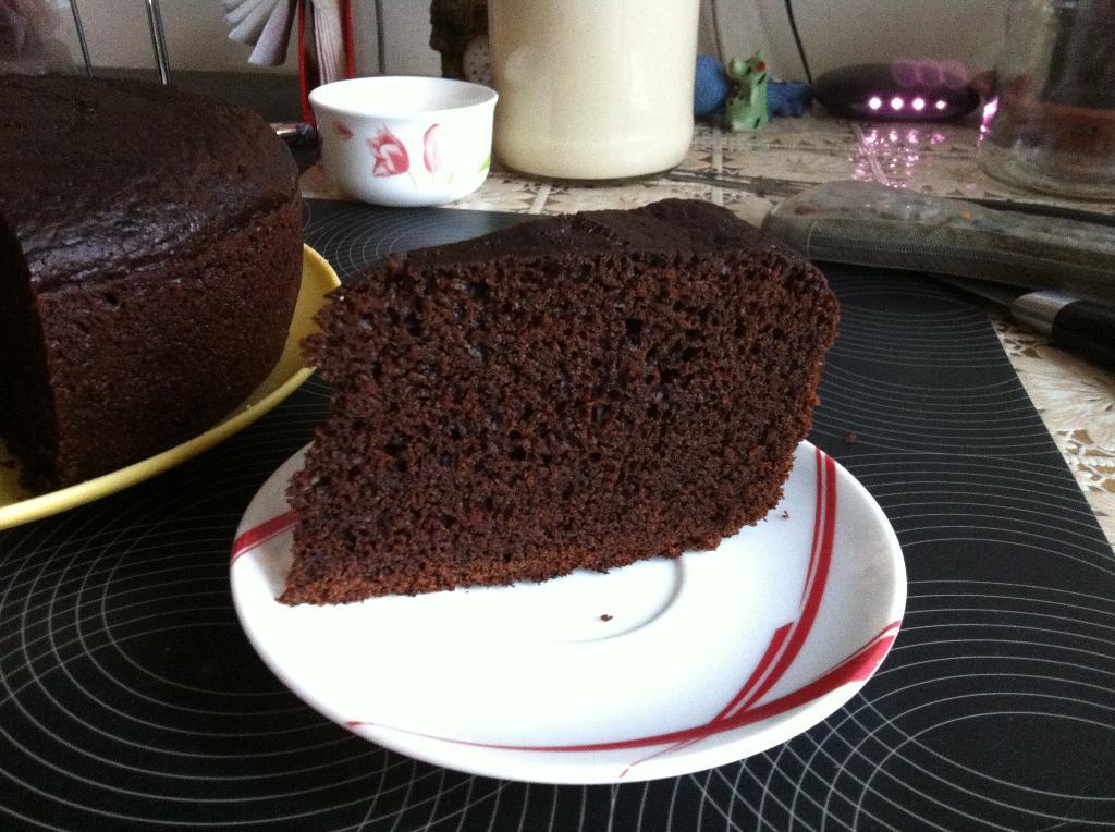 рецепт шоколадного бисквит в кипятке в мультиварке