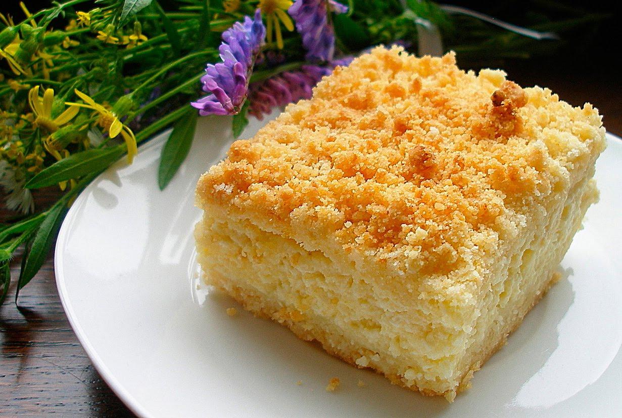 как приготовить творожно абрикосовый пирог в мультиварке с фото