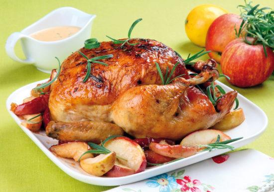 Простой рецепт курицы целиком