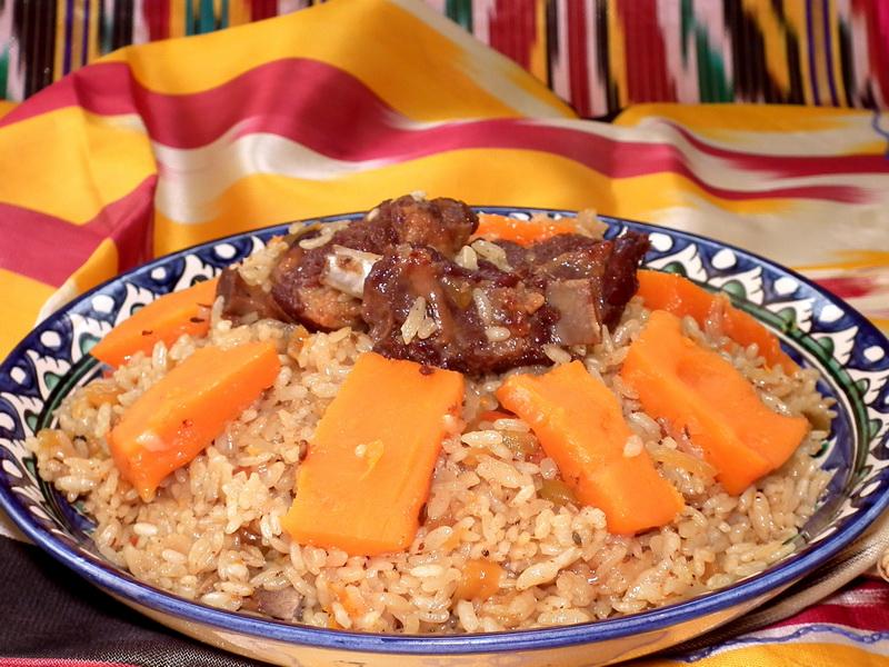 Плов из говядины в мультиварке пошаговый рецепт с фото узбекский