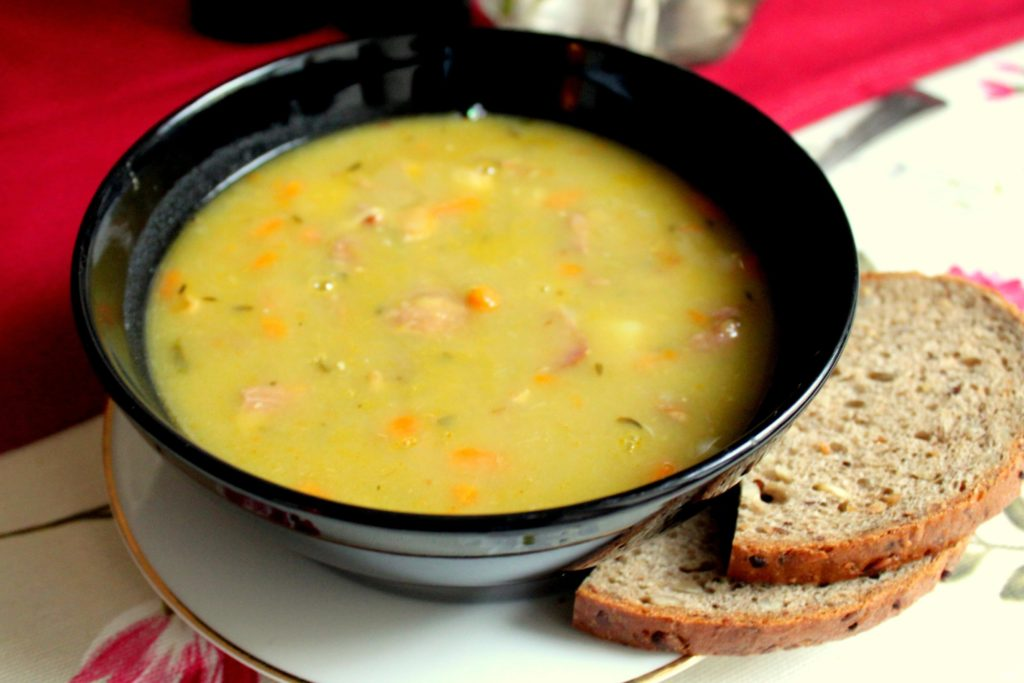 Гороховый суп с курицей в мультиварке рецепт пошагово