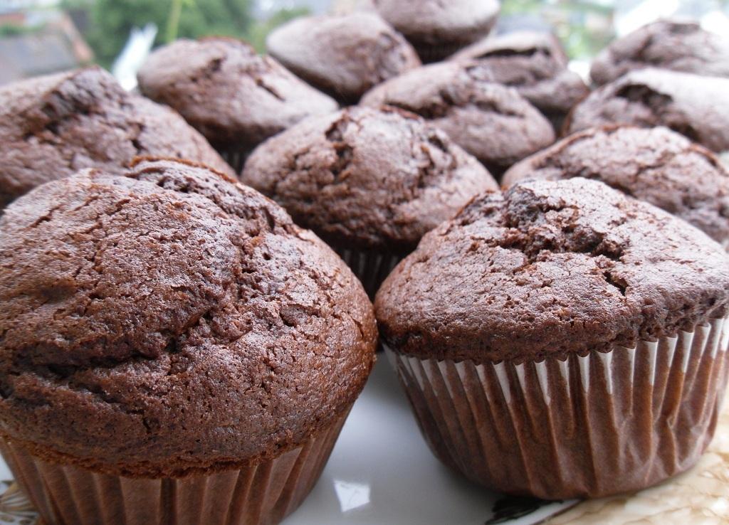 Шоколадные маффины рецепт приготовления