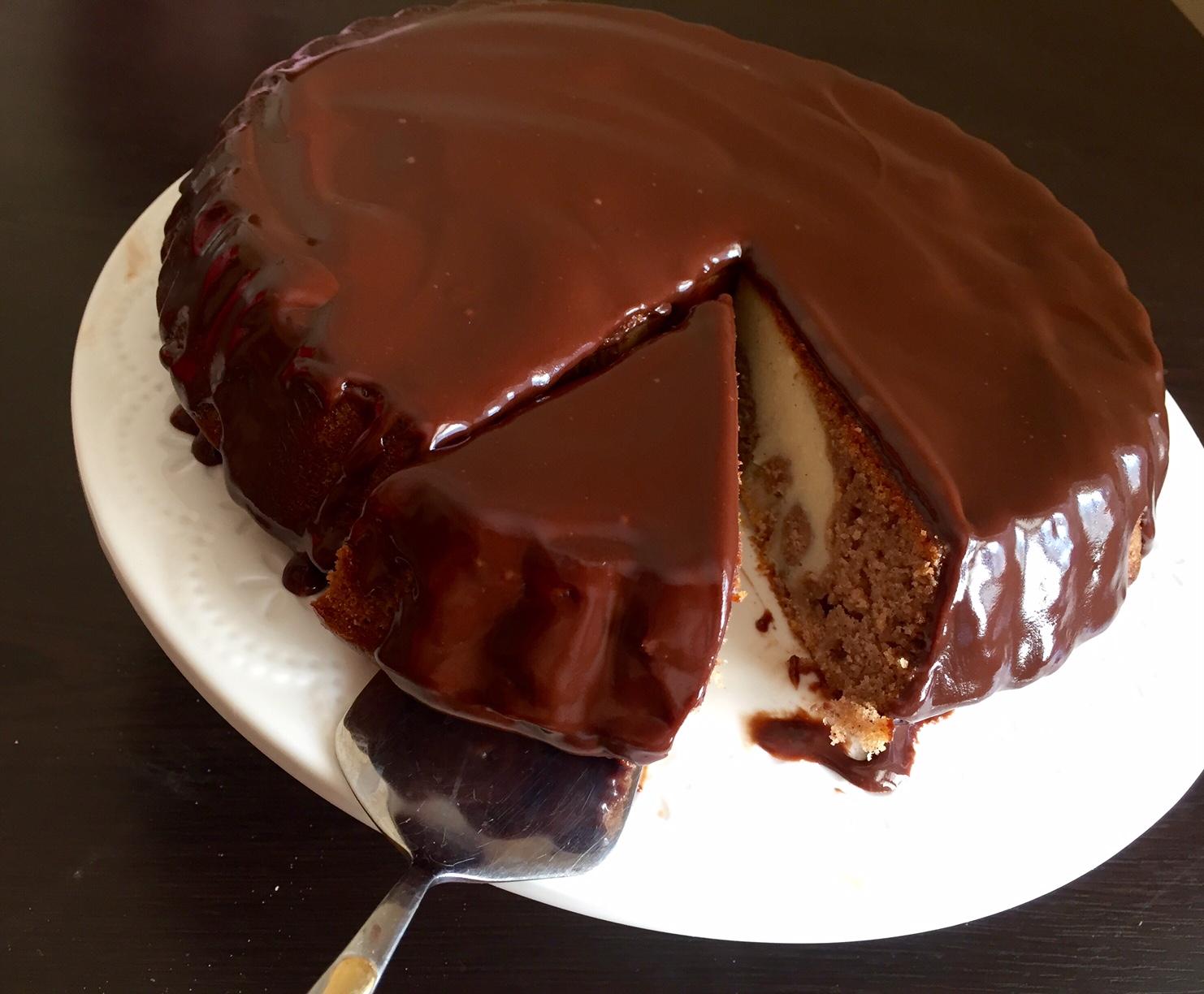 Шоколадный кекс рецепт с пошагово без масла