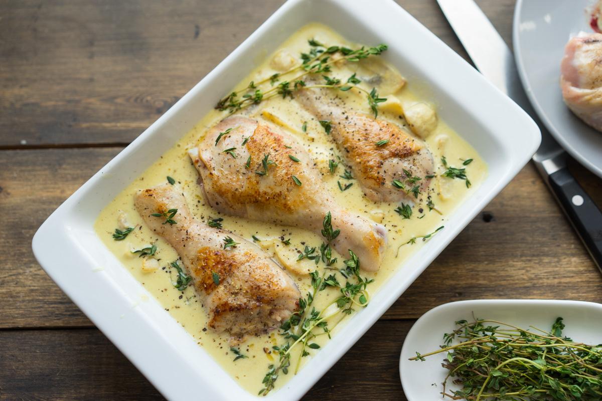 Куриные ножки в сметанном соусе в мультиварке рецепты с фото