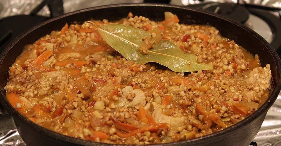 гречневая каша с фаршем рецепт