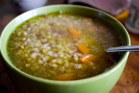 суп гречневый с фрикадельками рецепт пошагово с фото
