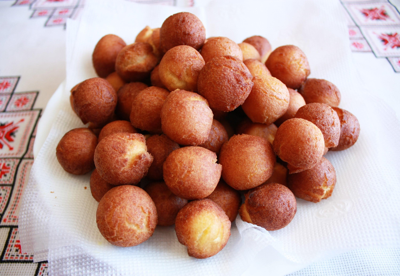 Пончики с сгущенкойы