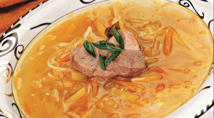 суп из квашеной капусты рецепт с фото пошагово