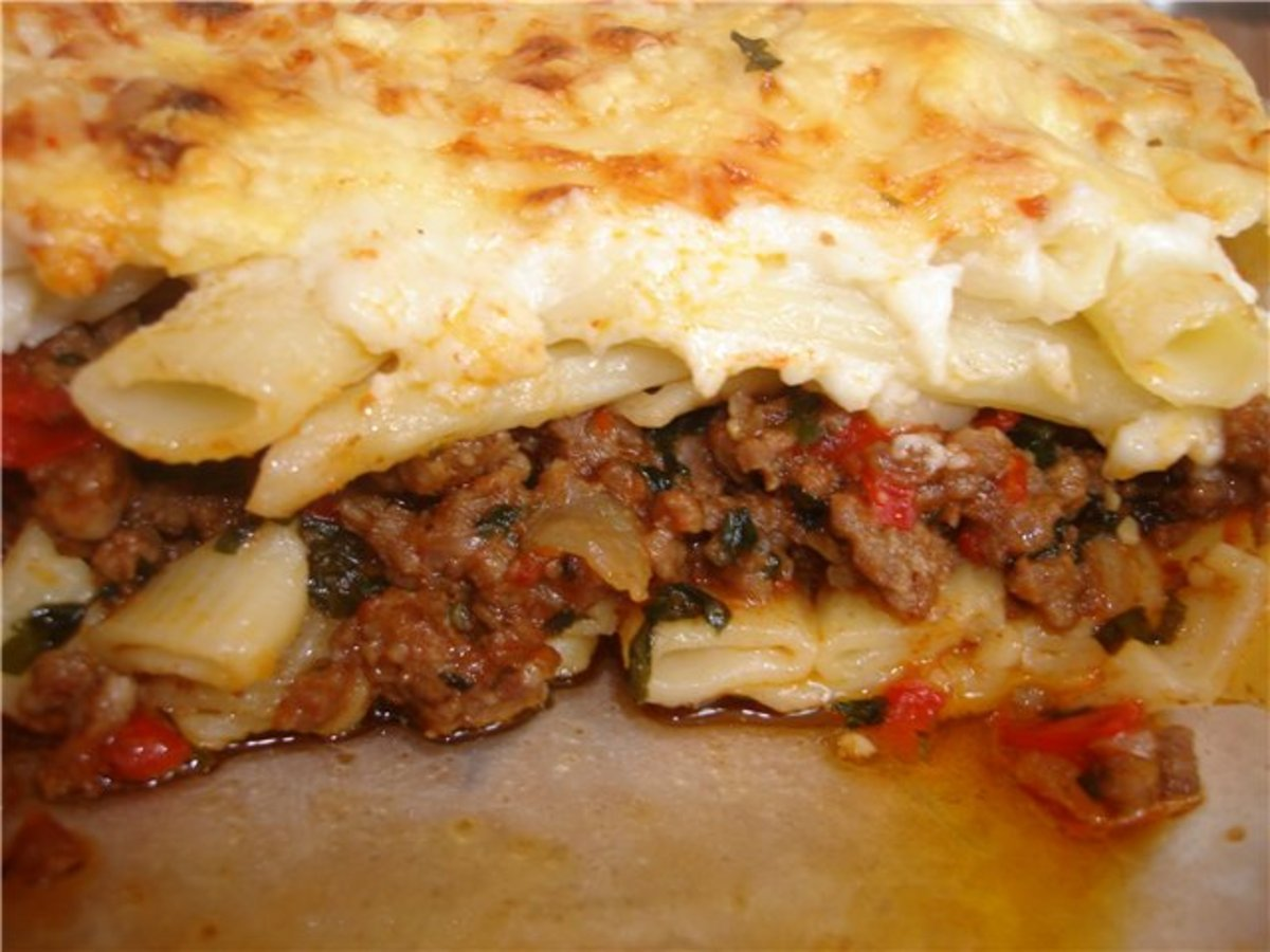 Запеканка с макаронами и фаршем рецепты с пошагово