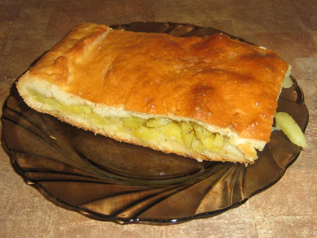 Пирожки картошкой духовке фото рецепт