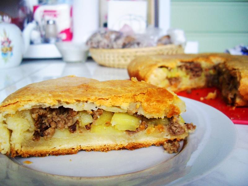 Пирог с картошкой рецепт в мультиварке 57