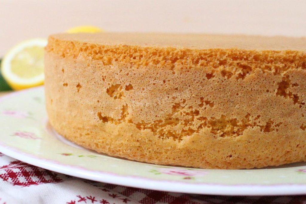 Бисквит без яиц на кефире рецепт пошагово