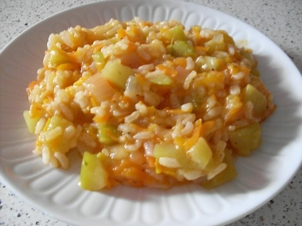 Рис с кабачком рецепт с пошагово в мультиварке