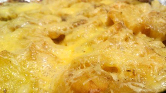 что можно приготовить из картошки сыра