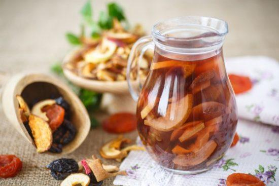рецепт компот для ребенка в полтора года из сухофруктов