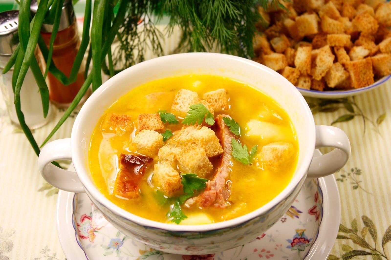 суп гороховый с копчеными ребрышками в мультиварке редмонд рецепты