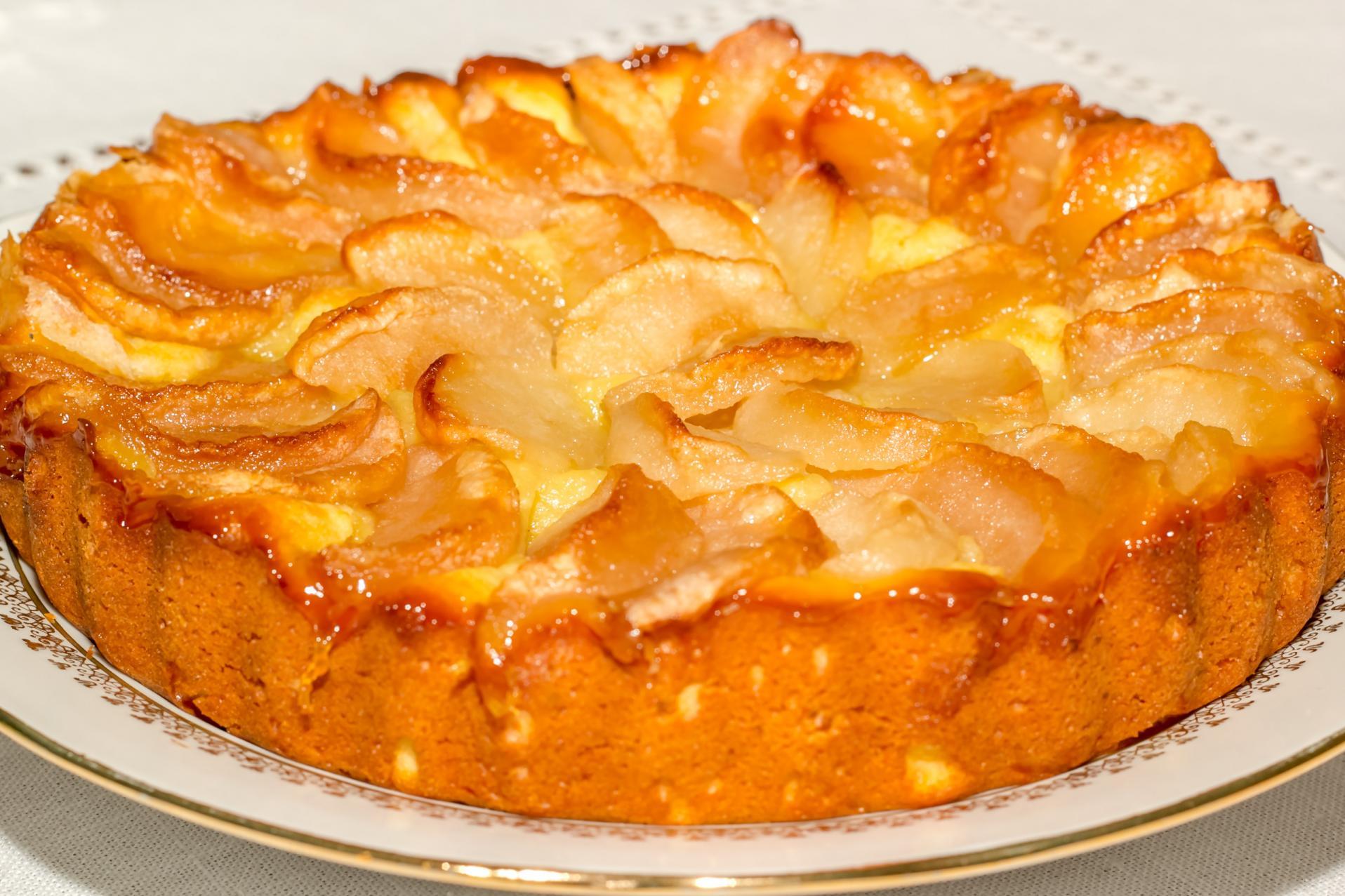 Пирог с яблоками в мультиварке рецепт с