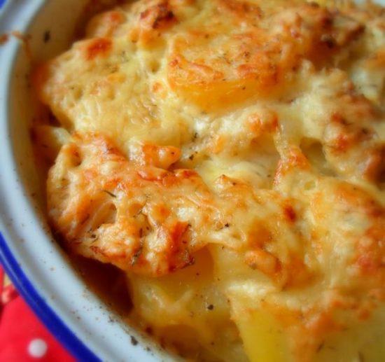 запеканка из цветной капусты с сыром и яйцом