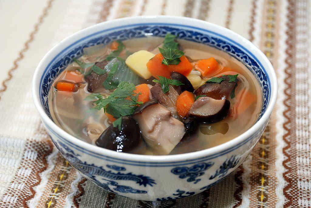 Грибной суп из свежих грибов рецепт с фото