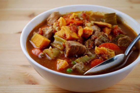 рецепт рагу из свинины с подливкой с фото пошагово