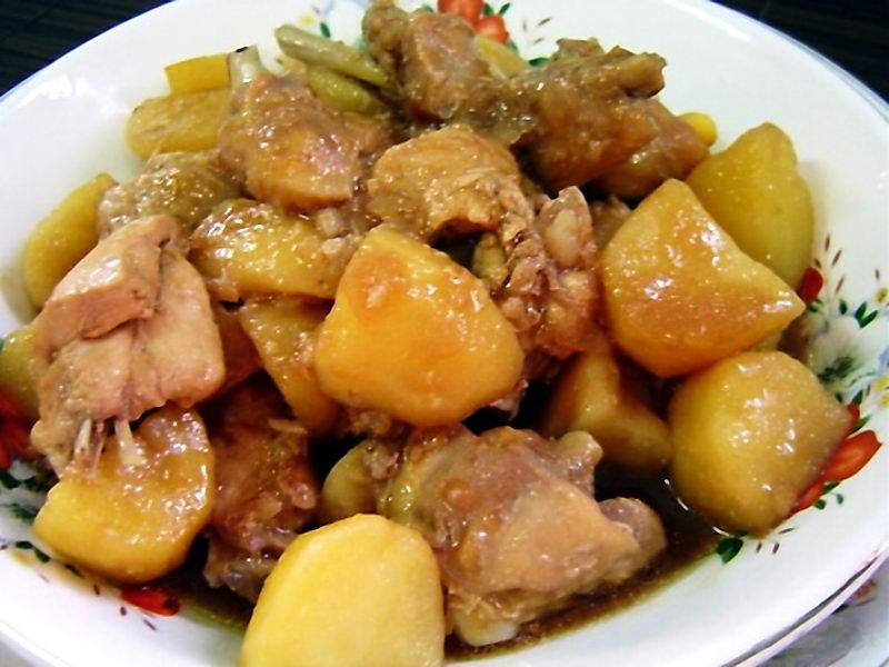 Рагу из картошки с мясом