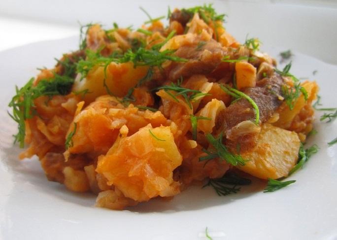 Солянка с капустой и картошкой рецепт 80