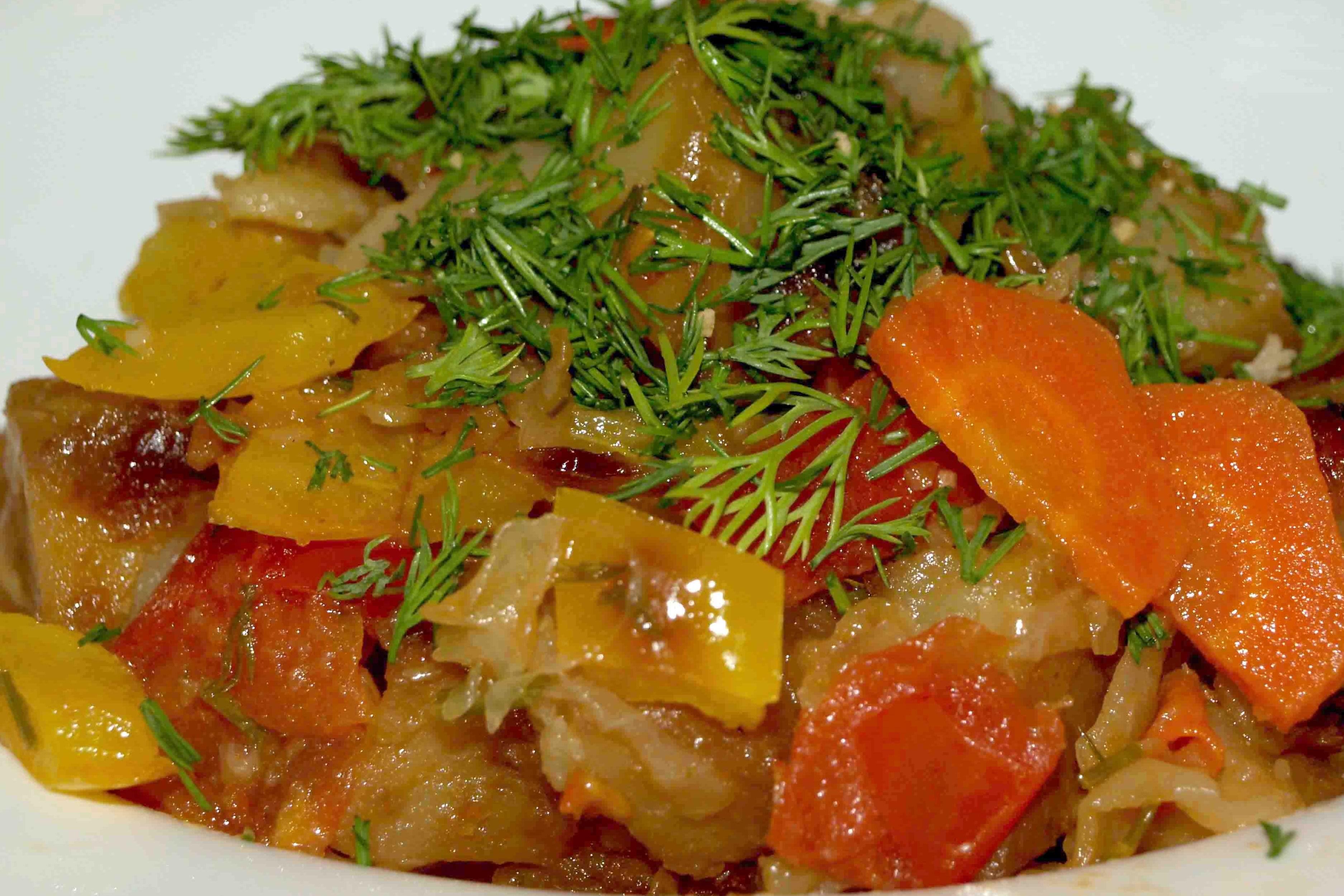 рагу с картошкой капустой и мясом в мультиварке рецепты с фото