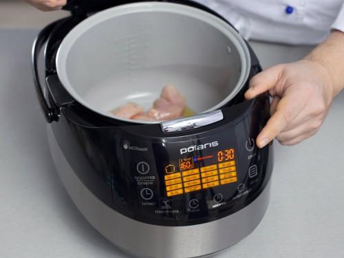 как варить курицу в мультиварке поларис