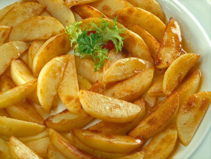 тушёная картошка с курицей в мультиварке поларис