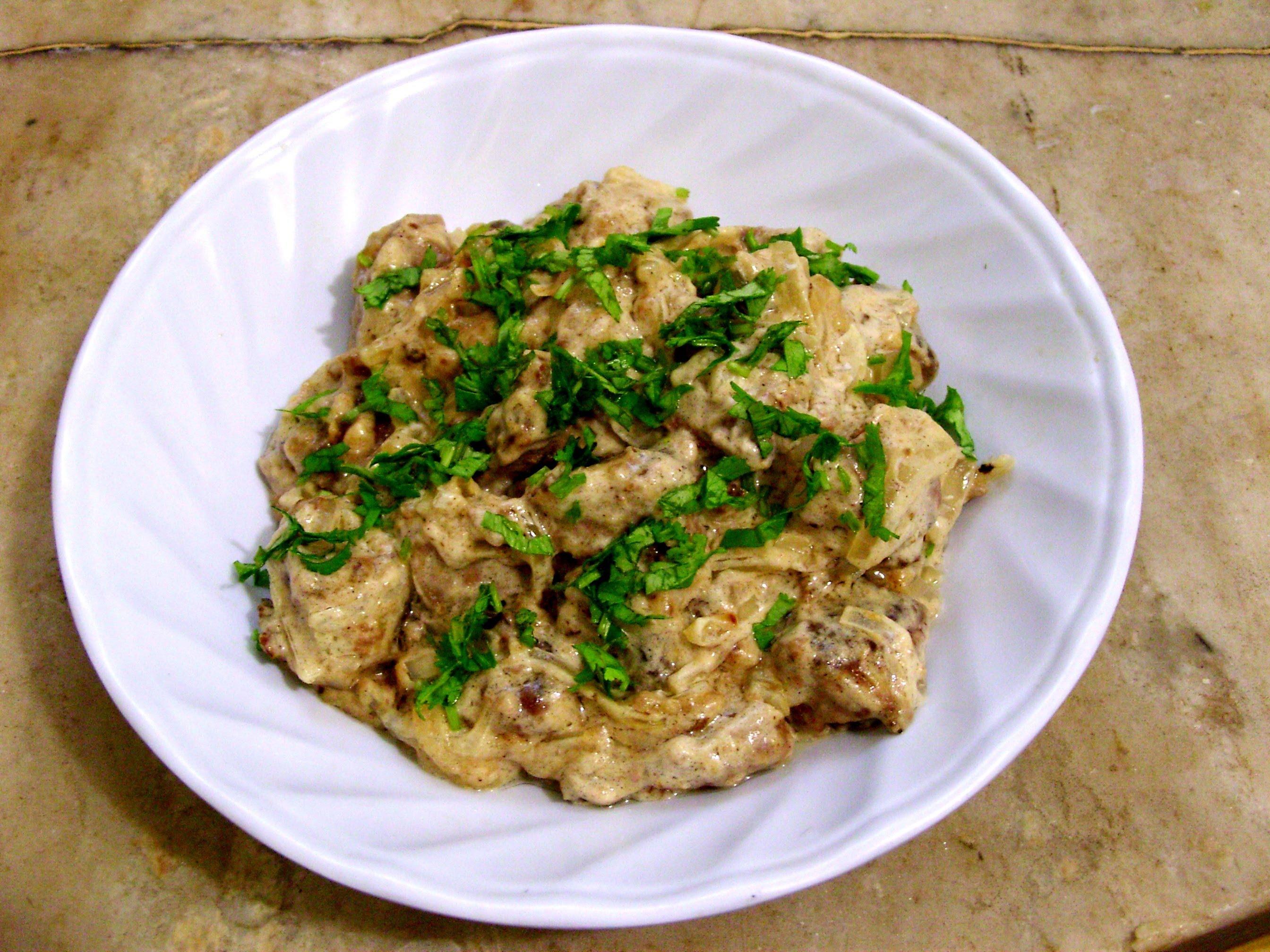 куриная печень со сметаной в мультиварке рецепт