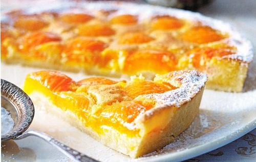 рецепт с фото пирога с абрикосами