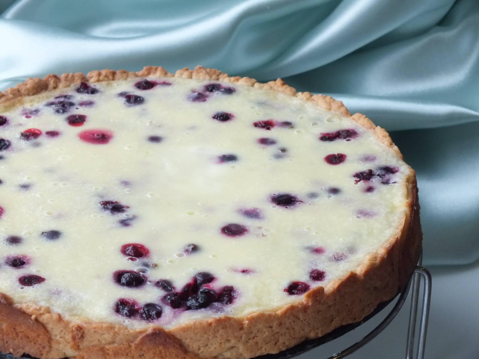 Смотреть Простой Рецепт Пирога С Черникой видео
